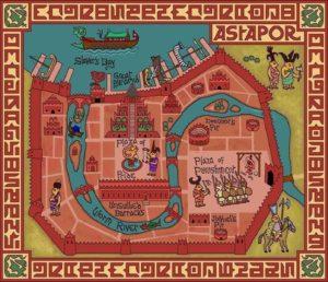 Game of Thrones - Carte moyen age (15) - Astapor - Guillaume Sciaux - Cartographe professionnel