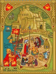 Game of Thrones - Carte moyen age (17) - Castral Roc - Guillaume Sciaux - Cartographe professionnel