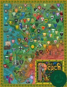 Game of Thrones - Carte moyen age (7) - Le bief - Guillaume Sciaux - Cartographe professionnel