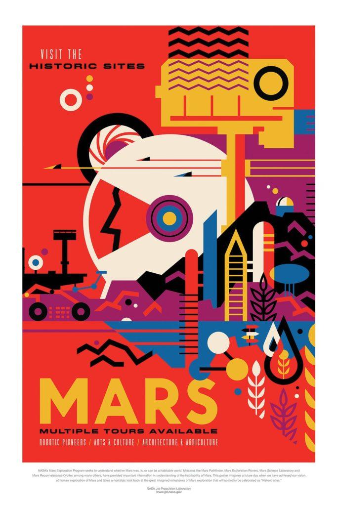Voyage vers Mars - Guillaume Sciaux - Cartographe professionnel