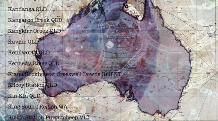 Massacres Australie - Judy Watson - Guillaume Sciaux - Cartographe professionnel