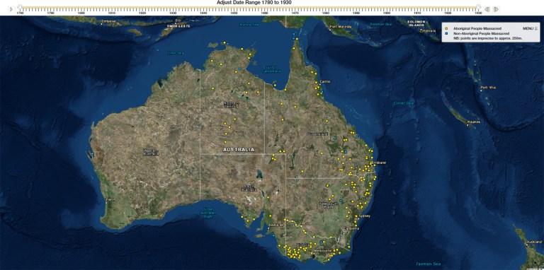 Massacres Australie - Lyndal Ryan - Guillaume Sciaux - Cartographe professionnel