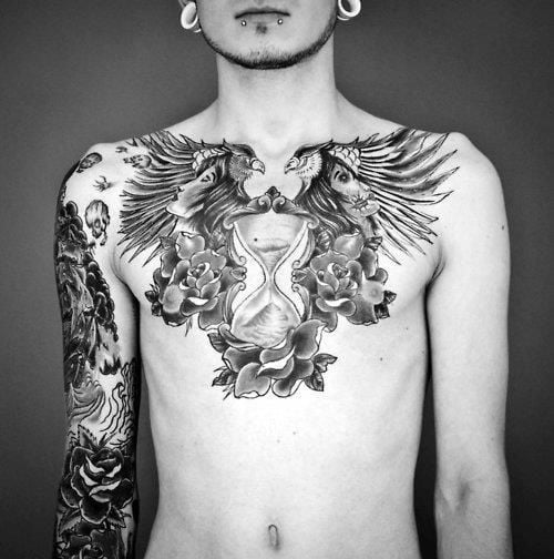 Chest Tattoos For Men Simple