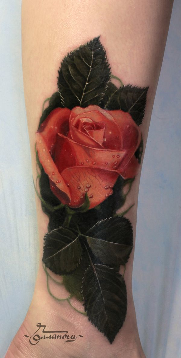 Traditional Tattoo Flowers Types