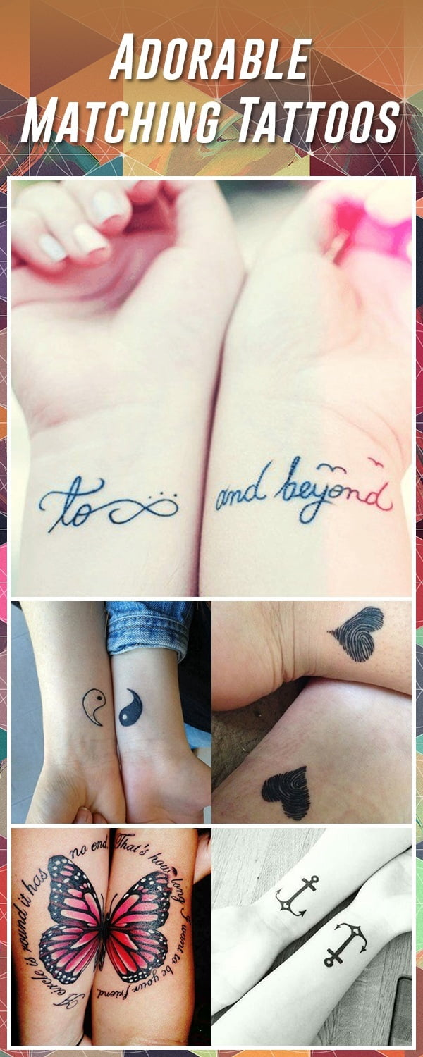 Couple Cute And Small Tattoos
