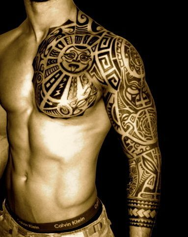 Tribal Tattoos Arm Sleeve