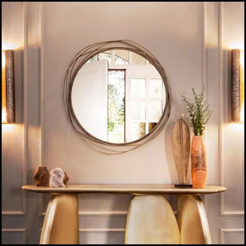 lampadaire palmier murano art deco set