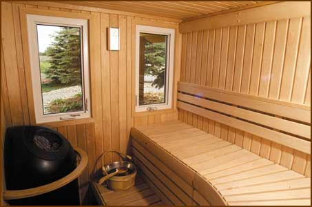 PrestigePanel Built Indoor  Outdoor Saunas  California Installation Services