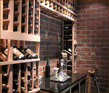 WoodMetal Wine Rack Plans for Custom Wine Cellars