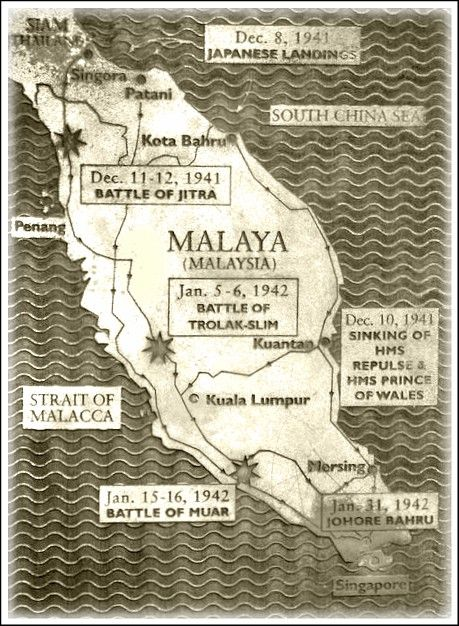 The Malayan Campaign Japanese Blitzkrieg Pacific