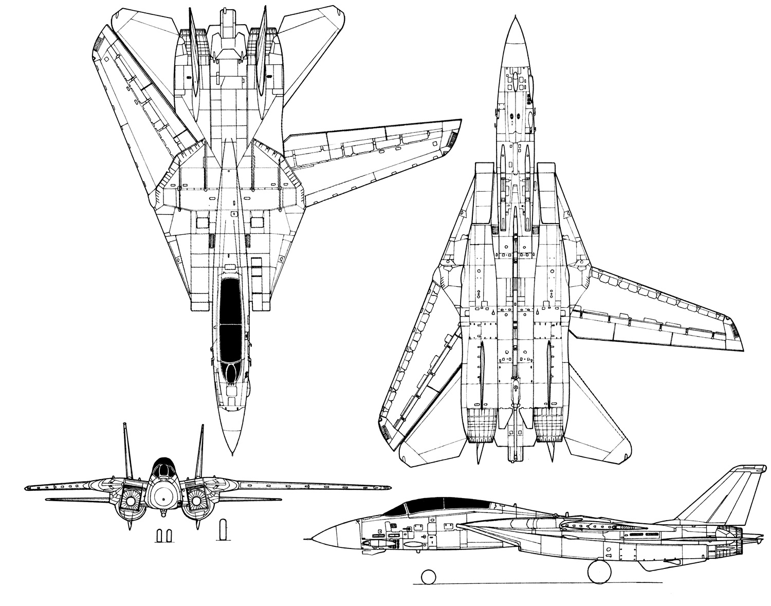 Grumman F 14d Tomcat Fighter