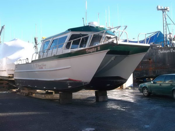 Aluminum Pilothouse Boat - Year of Clean Water