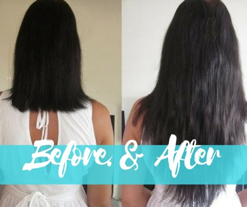 hair extensions thousand oaks before and after