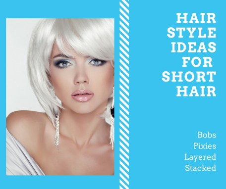 hair styles for short hair 1
