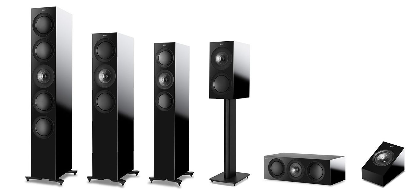 hight resolution of kef r series 2018