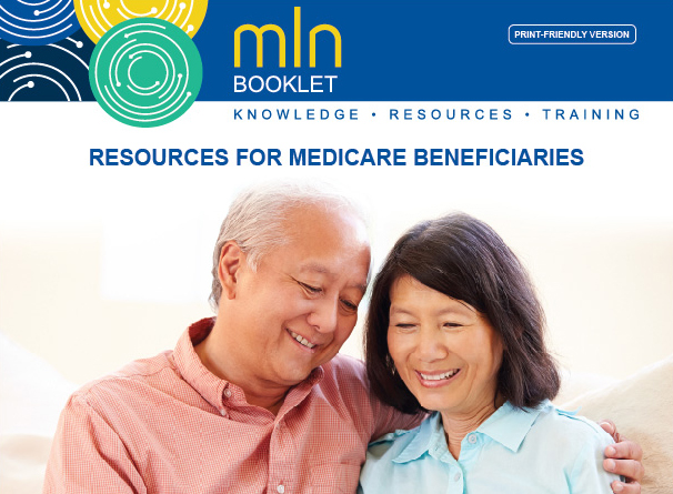 Banner Of Elderly Couple. Resources For Medicare Beneficiaries