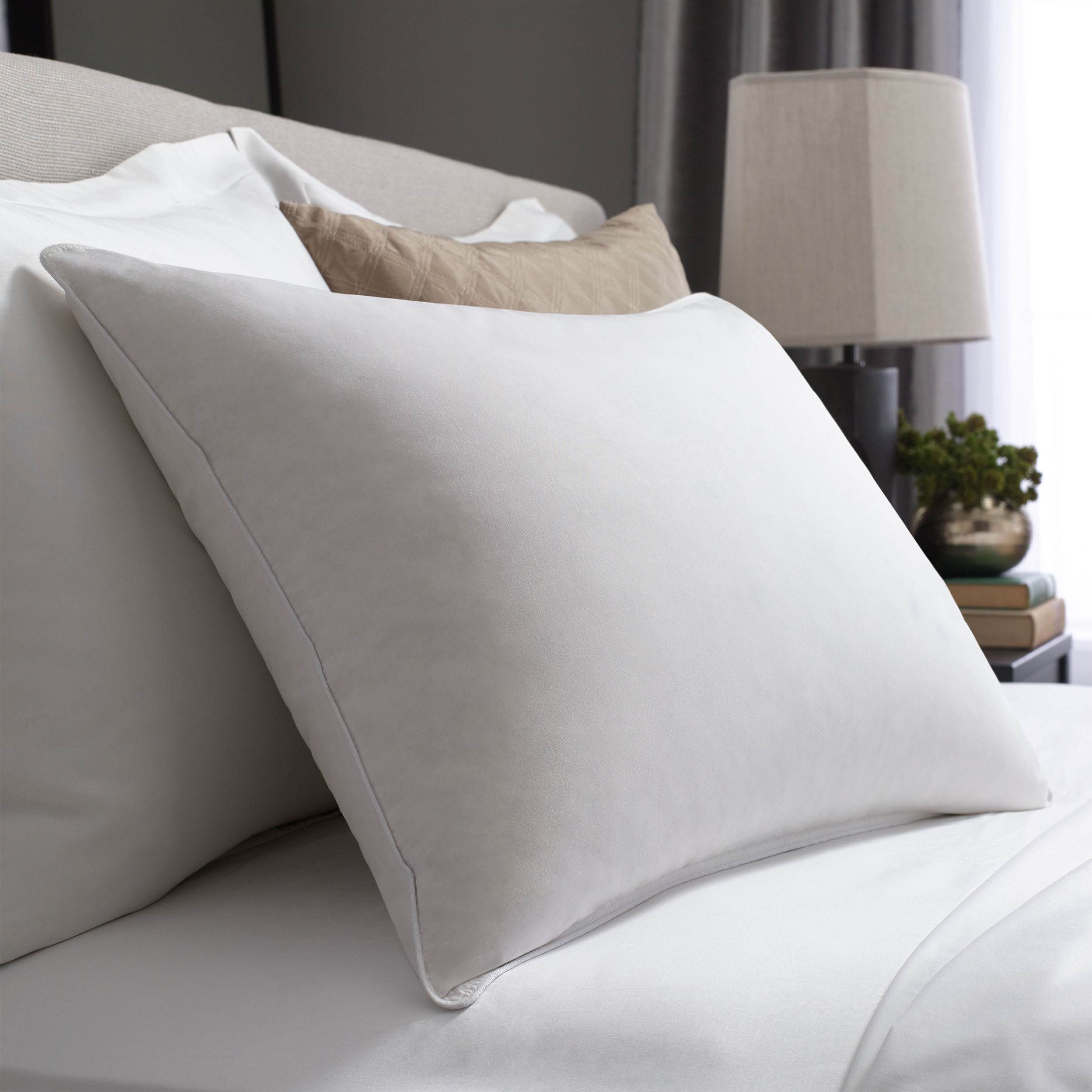 hotel double touch of down pillow