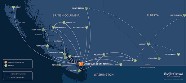 WestJet Link  Pacific Coastal Airlines  Official Website