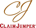 logo: Claim Jumper | Pacific Coast Hospitality client