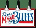 logo: Maggie Bluffs restaurant | Pacific Coast Hospitality client