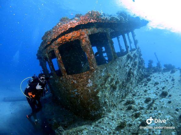 Navy Tug Wreck Diving - Oahu, Hawaii
