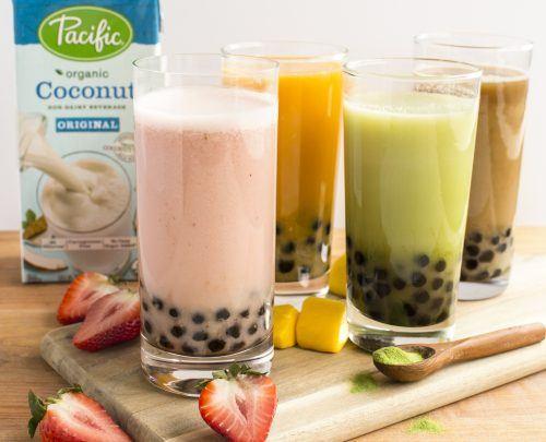 dairy free bubble tea