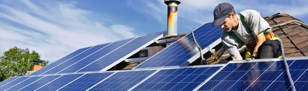 medium resolution of image of solar panel installation