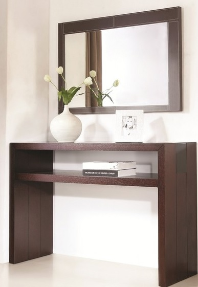 Jenny Console And Mirror Set Modern Console Tables