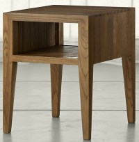 Marin Natural Solid Wood Side Table | Costa Rican Furniture