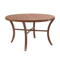 TRANSITIONAL ROUND COFFEE TABLE | Costa Rican Furniture