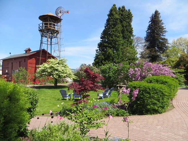 Lilac Garden Woodland Wa