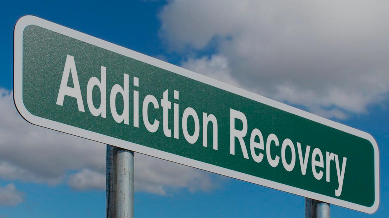 road sign addiction recovery