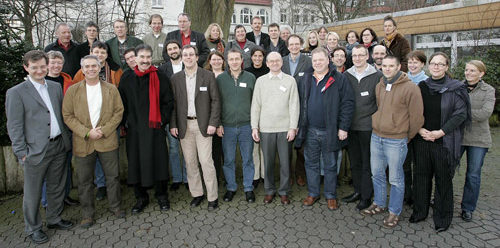 Group Photo Outside of Doctors in Germany
