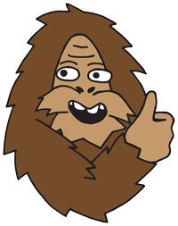 Sasquatch says: