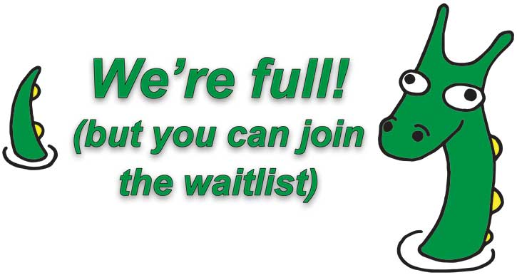 We're full (but you can join the waitlist)