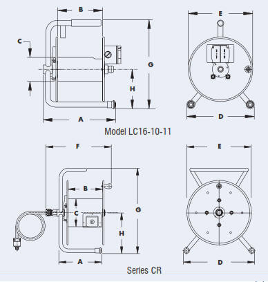 Catalog: LC and CR Series Cable Reels