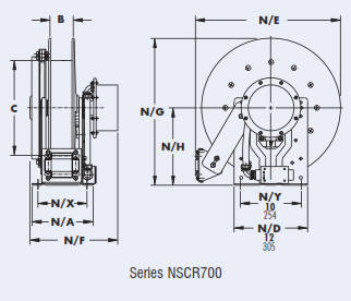 Catlog: SCR700 and NSCR700 Series Cable Reel