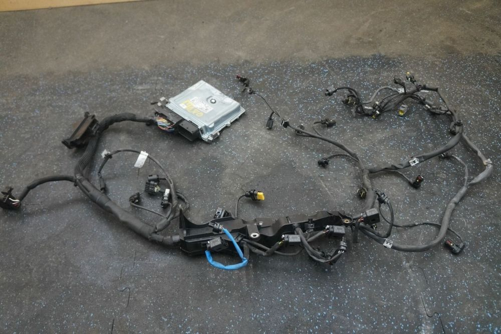 medium resolution of engine computer module wire harness