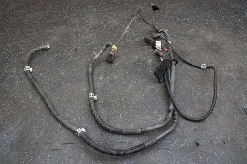 small resolution of engine starter to alternator wire harness