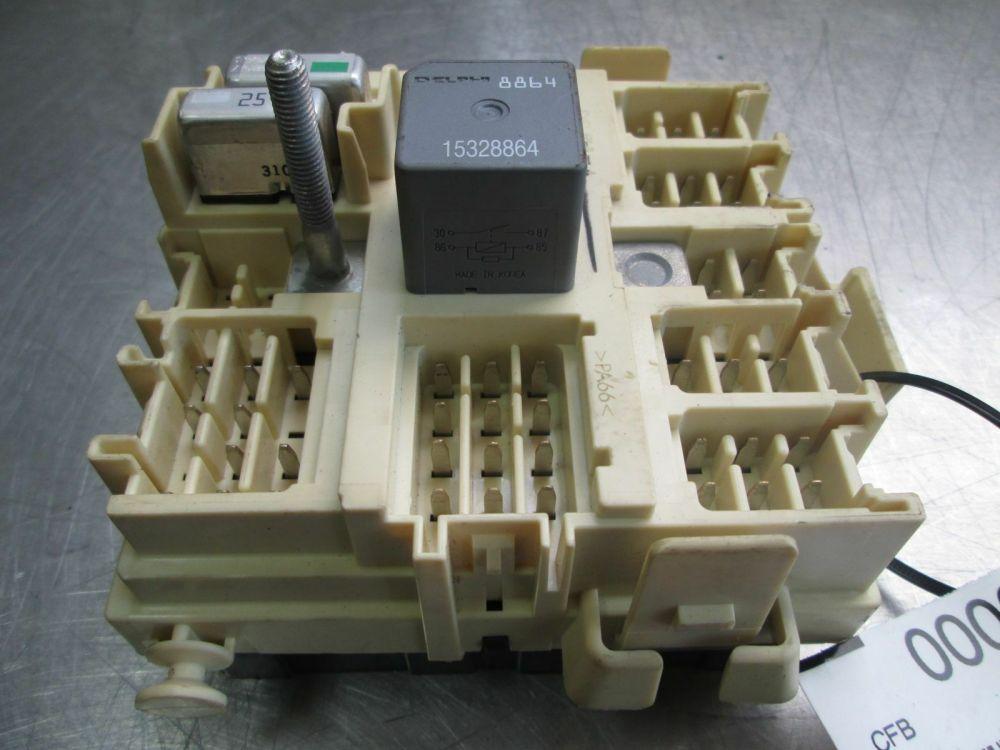 medium resolution of left footwell wiring junction fuse box relay 15190658 oem hummer