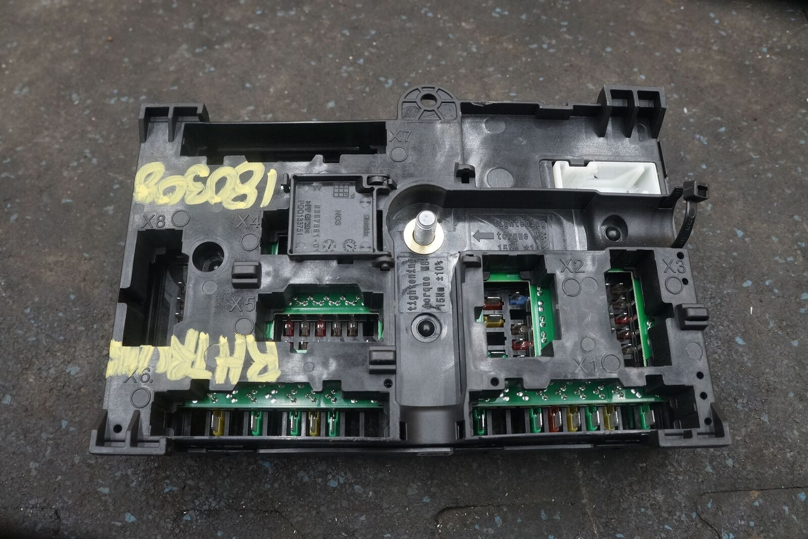 Power Fuse Box Detailed Schematics Diagram 1999 Bmw 740il Rear Distribution Block 61149377503 750i 740i G11 Dakota