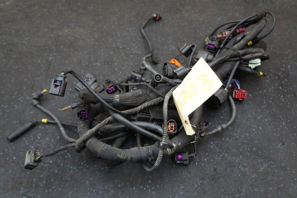 medium resolution of 3 0l diesel tdi engine wiring wire harness 4l0971610cg oem audi