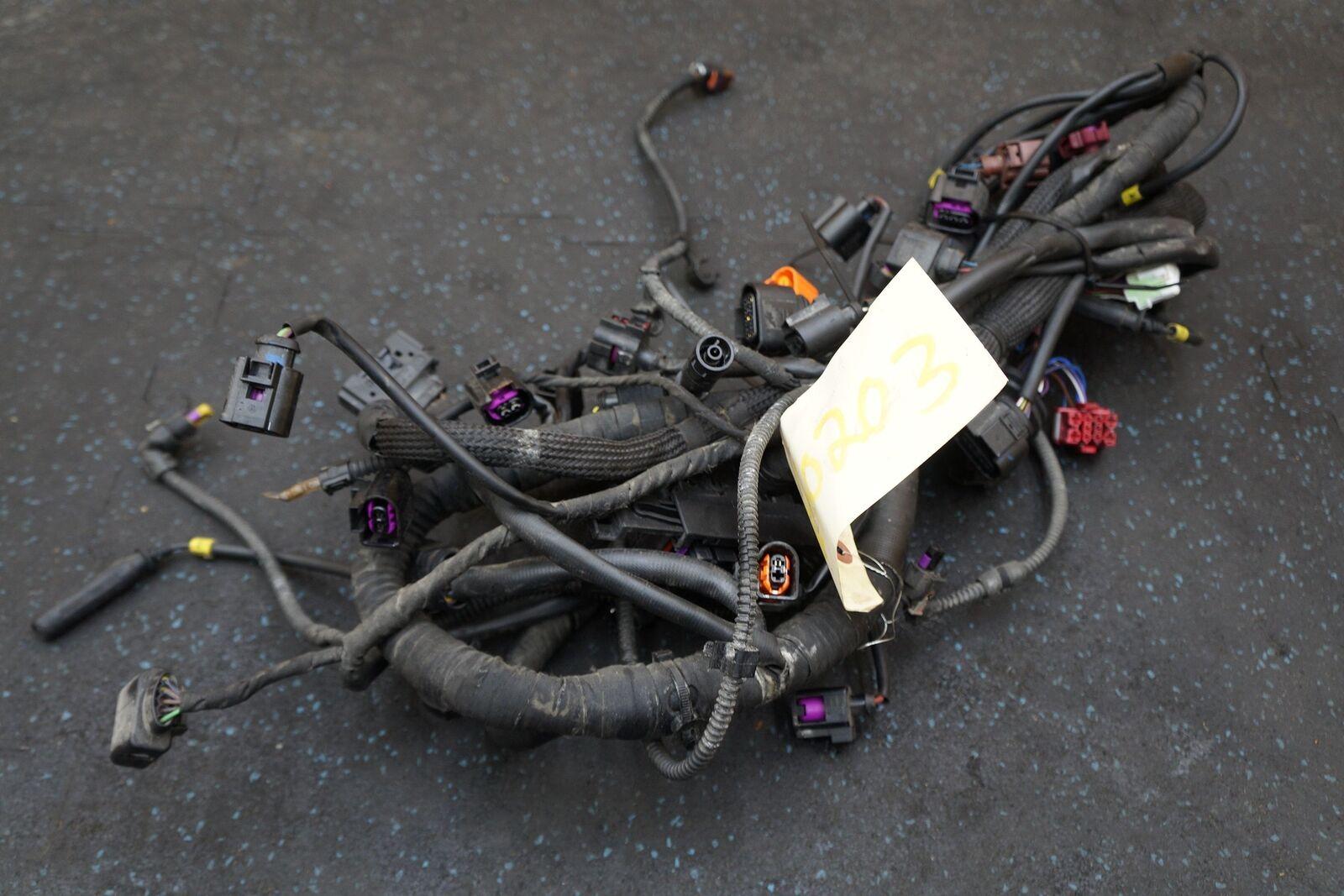 hight resolution of 3 0l diesel tdi engine wiring wire harness 4l0971610cg oem audi q7audi q7 wiring 19