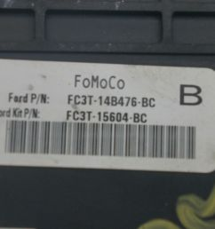 dash cabin fuse box block fc3t14b476bc oem ford  [ 1600 x 1067 Pixel ]