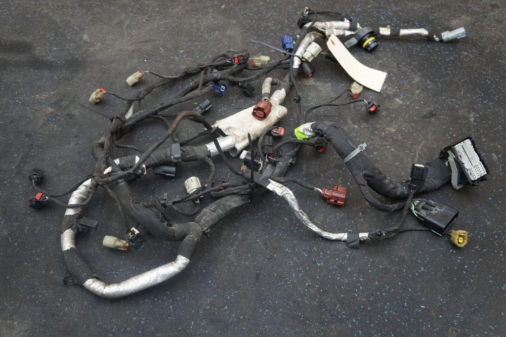 medium resolution of engine wiring wire harness hc3z12a581bb oem 6 2l ford f250