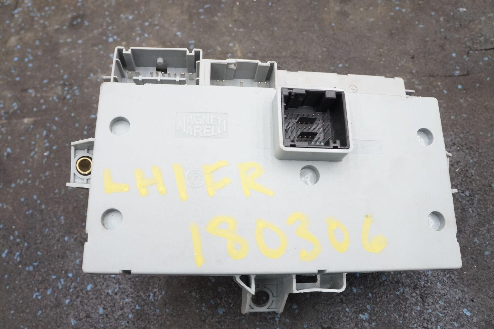 hight resolution of fuse box relay body control module ecu 229377 245788 oem ferrari california 2011