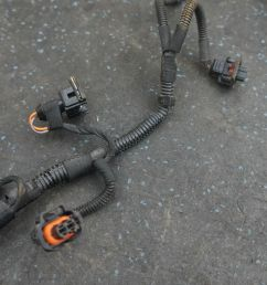 left vee wire wiring harness  [ 1600 x 1067 Pixel ]