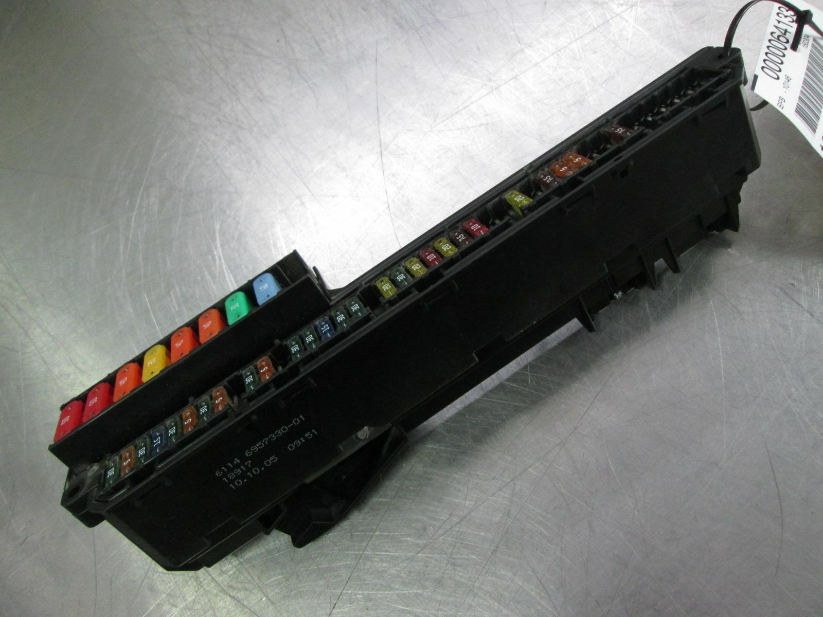 hight resolution of front power distribution fuse box block 61146932452 bmw m5 e60