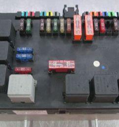 rear trunk fuse box block 2215406450 mercedes s550  [ 1600 x 900 Pixel ]
