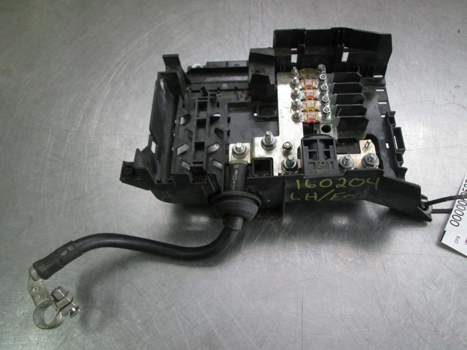 hight resolution of right passenger body relay fuse box block 7l0937548c audi q7 2007